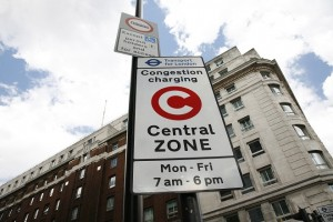 Central Zone Sign in the UK